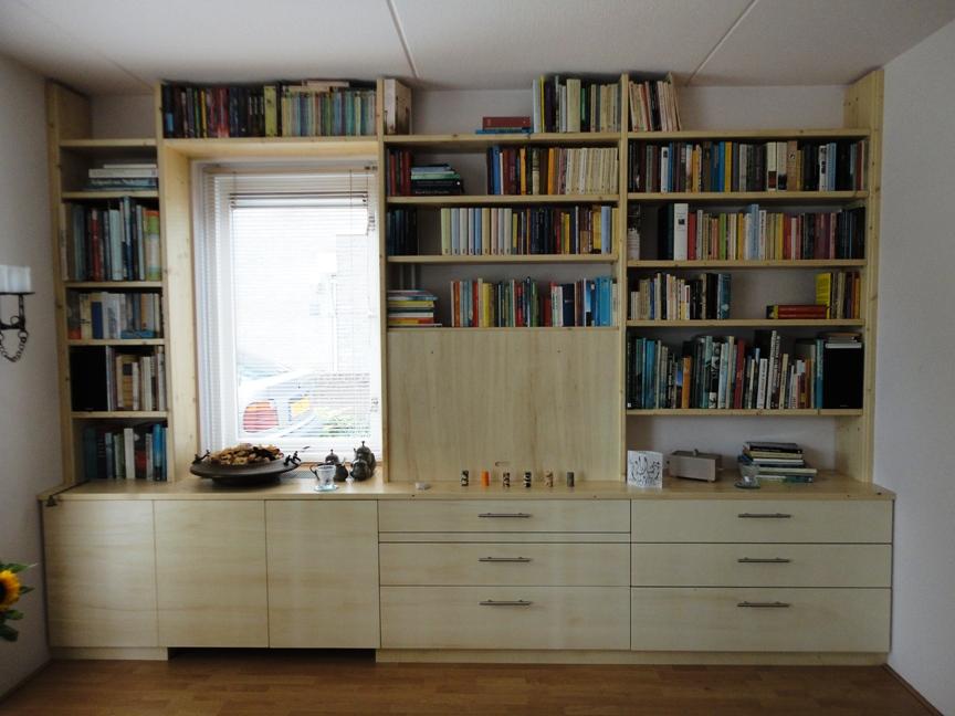 tvmeubel annex boekenkast